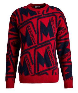 Moncler Intarsia Wool Sweater