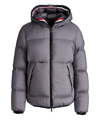 Moncler Matt Black Champsaur Down Jacket