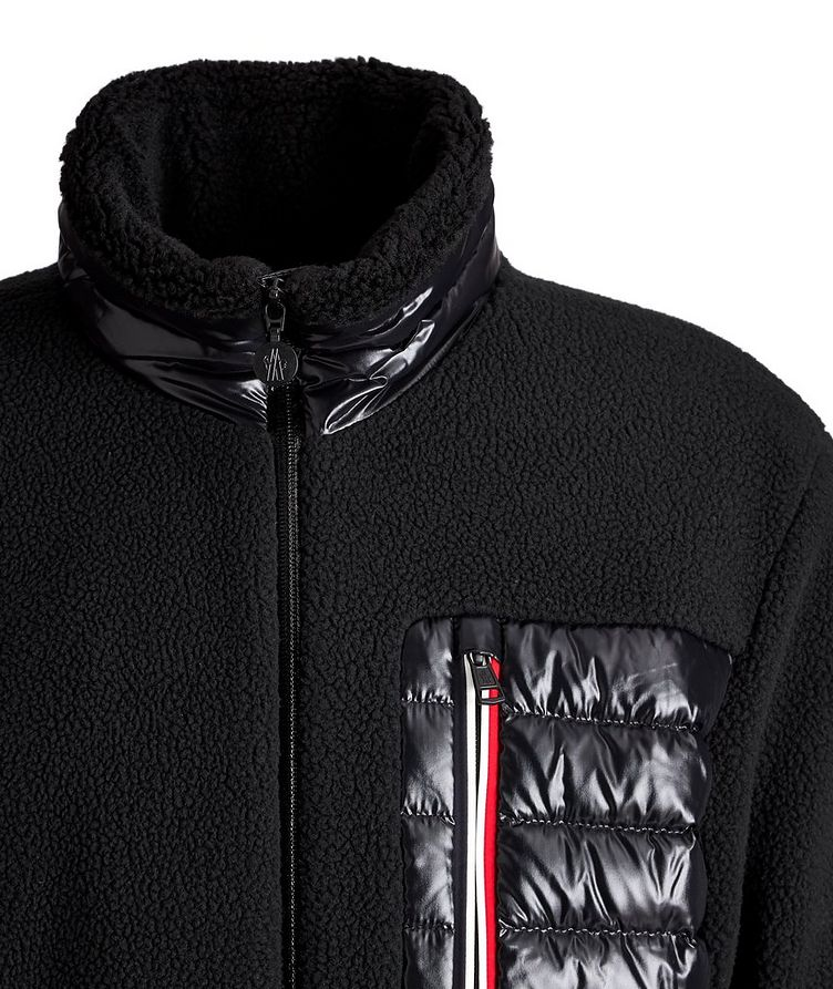 Manteau de duvet Sciablese, collection Matt Black image 1