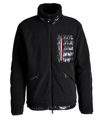Moncler Matt Black Sciablese Down Jacket