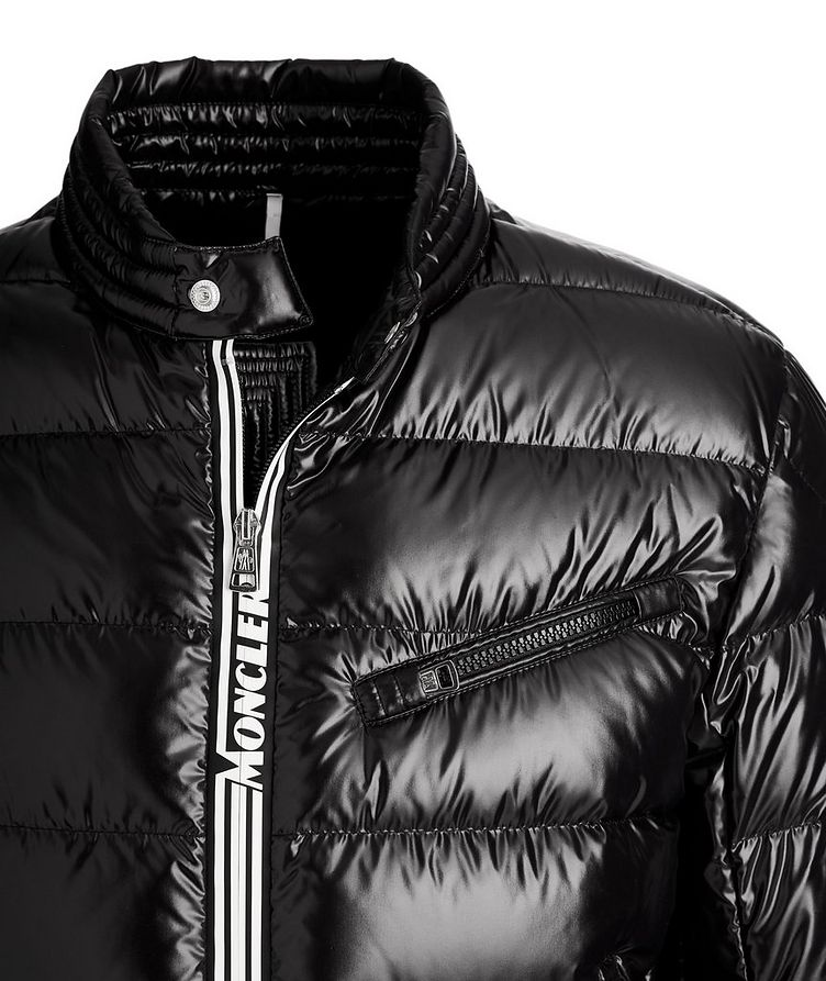 Caroux Quilted Down Moto Jacket image 2