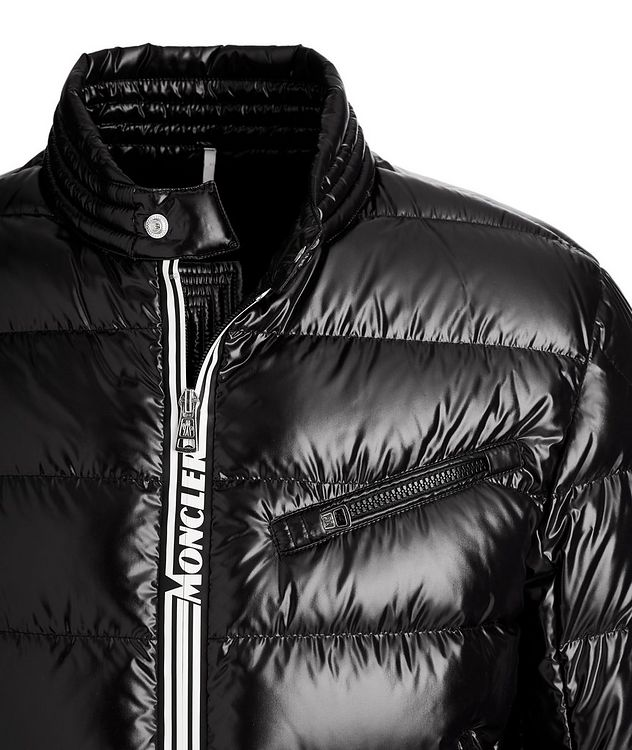 Caroux Quilted Down Moto Jacket picture 3