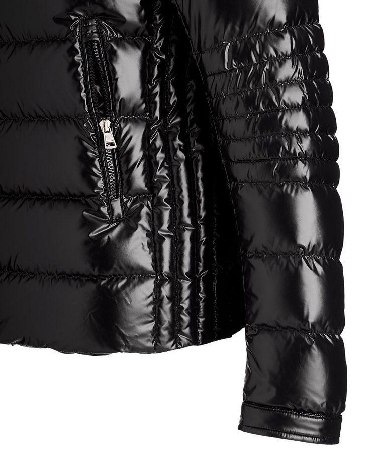 Caroux Quilted Down Moto Jacket image 3