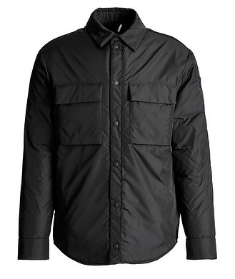 Moncler Cassis Down-Fill Wool-Lined Coach's Jacket