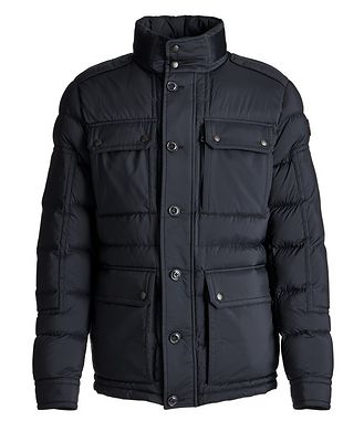 Moncler Lagginhorn Quilted Down Field Jacket