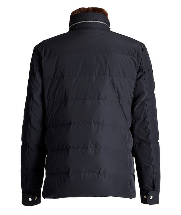 Jean Marc Quilted Goose Down Winter Jacket picture 2