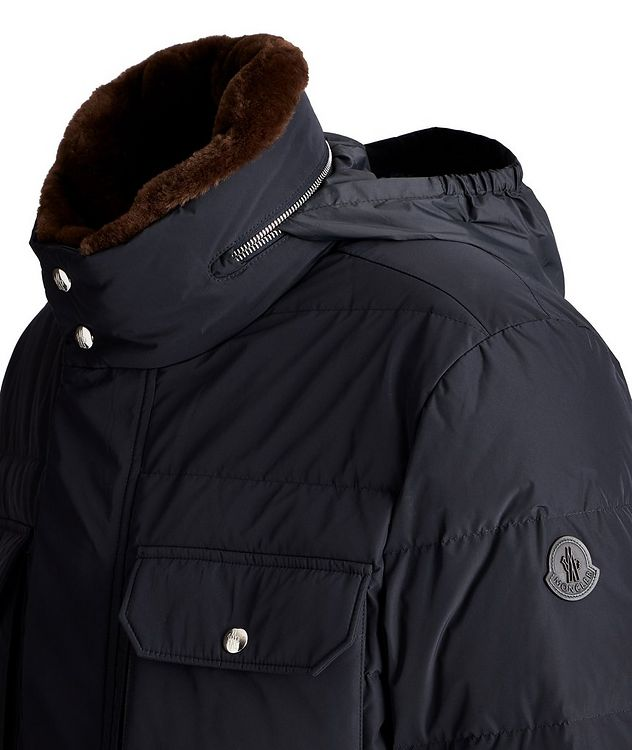 Jean Marc Quilted Goose Down Winter Jacket picture 3
