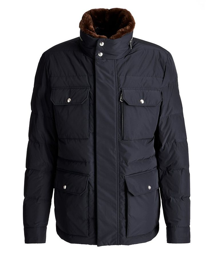 Jean Marc Quilted Goose Down Winter Jacket image 0