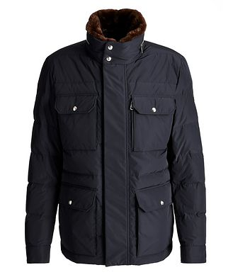 Moncler Jean Marc Quilted Goose Down Winter Jacket