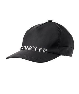 Moncler Matt Black Baseball Cap