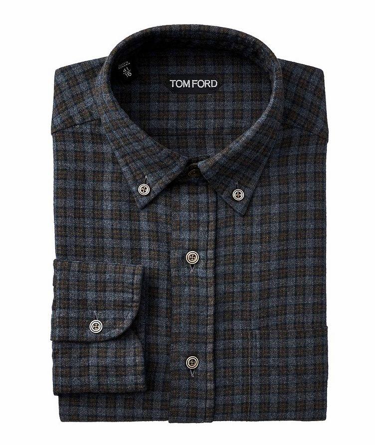 Plaid Flannel Cotton Shirt image 0