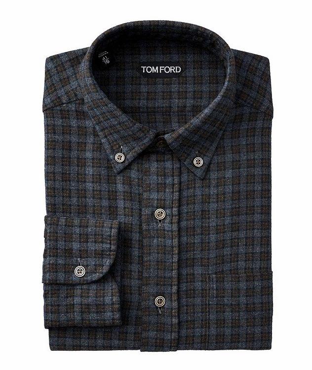 Plaid Flannel Cotton Shirt picture 1