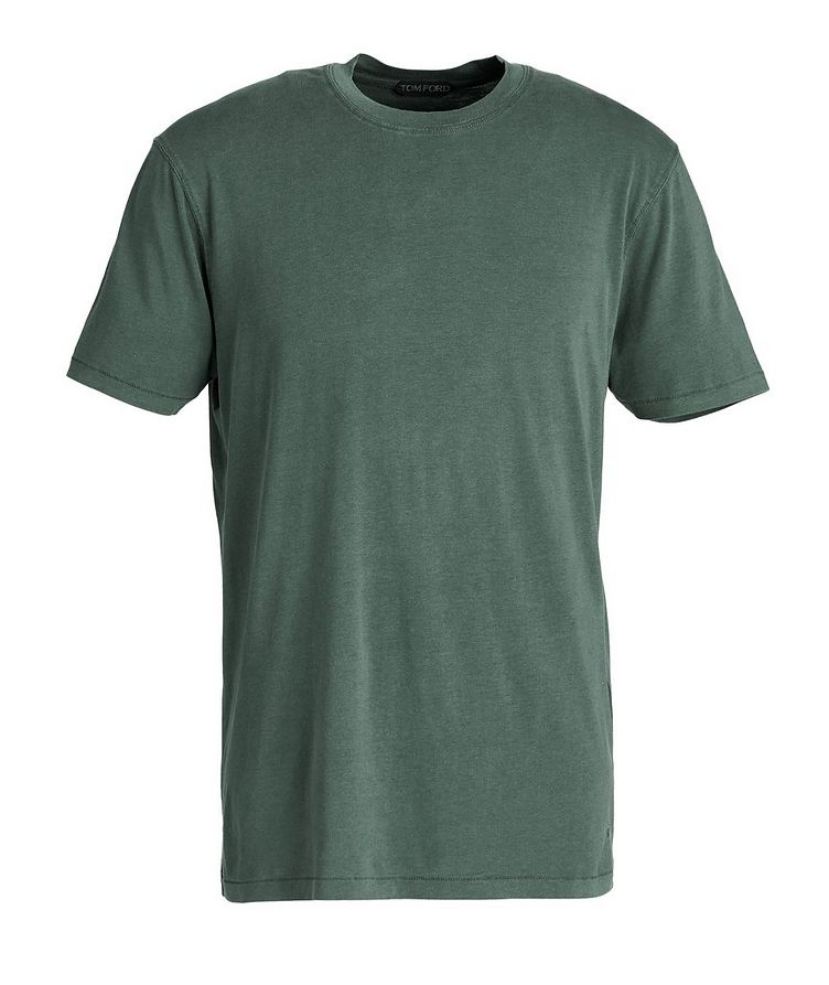 T-shirt en jersey de coton image 0