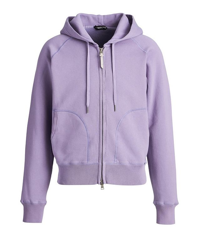 Zip-Up Stretch Hoodie picture 1