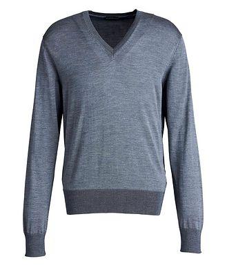 TOM FORD V-Neck Silk Sweater