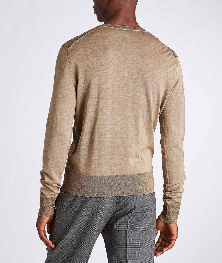V-Neck Silk Sweater image 2