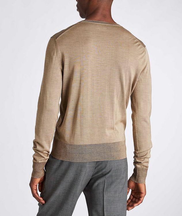 V-Neck Silk Sweater picture 3