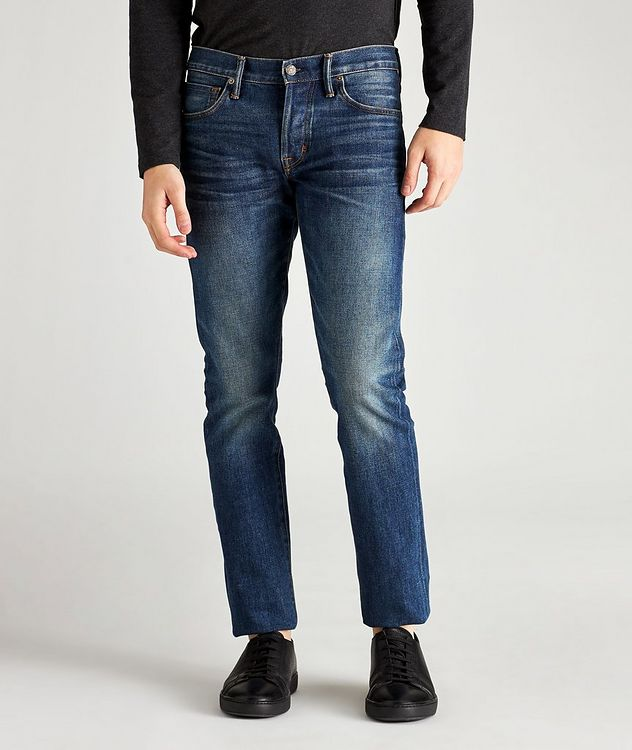 Slim Fit Stretch Jeans picture 1