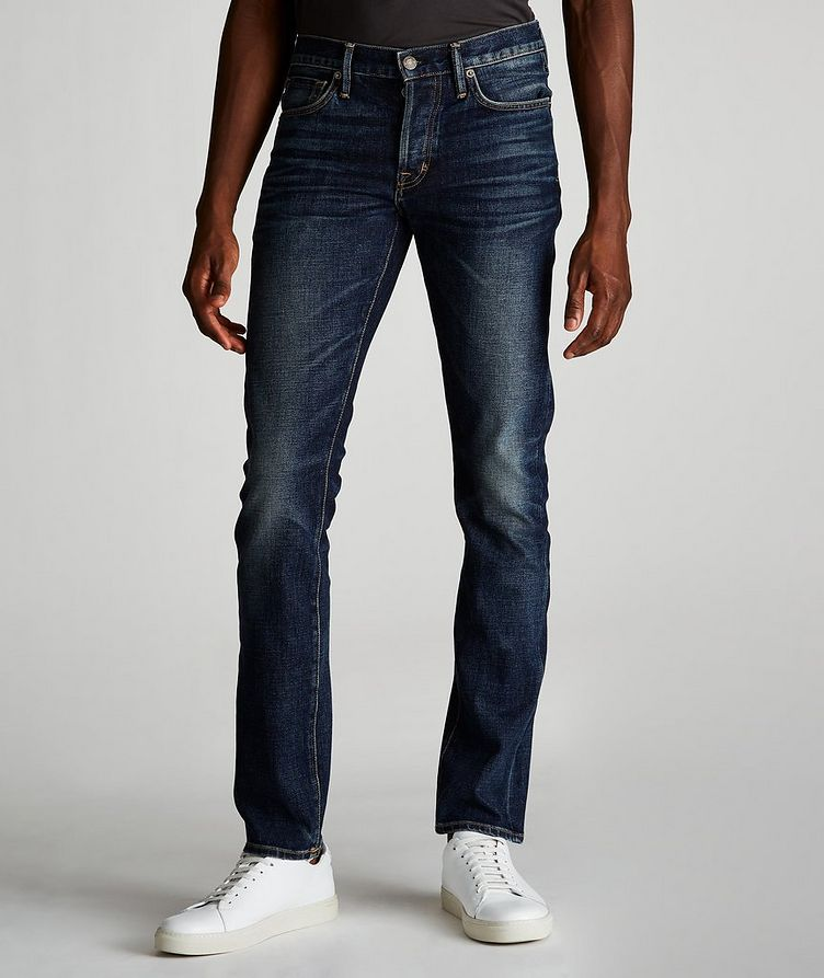 Slim Fit Stretch Jeans image 0