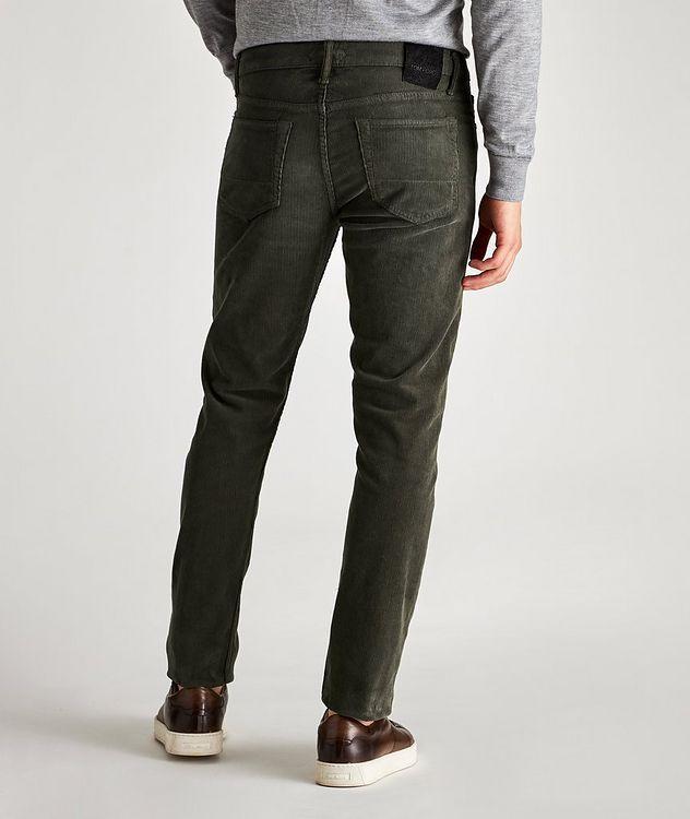 Stretch-Cotton Corduroy Jeans picture 2