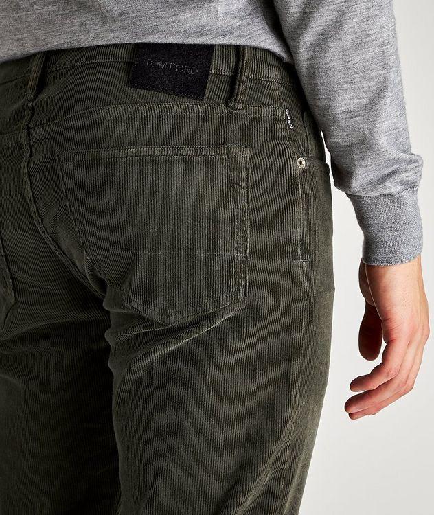 Stretch-Cotton Corduroy Jeans picture 3
