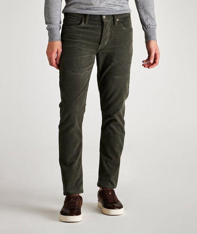 Stretch-Cotton Corduroy Jeans picture 1