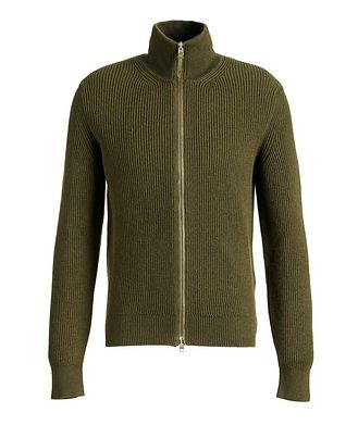 TOM FORD Zip-Up Cashmere Cardigan