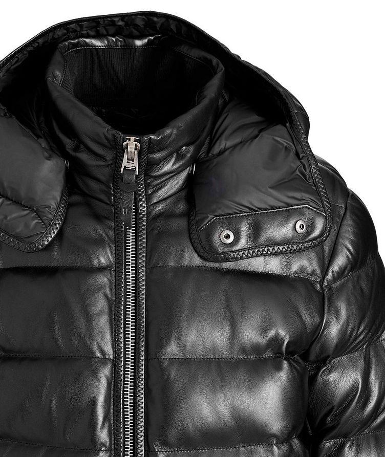 Lambskin Puffer Jacket image 2