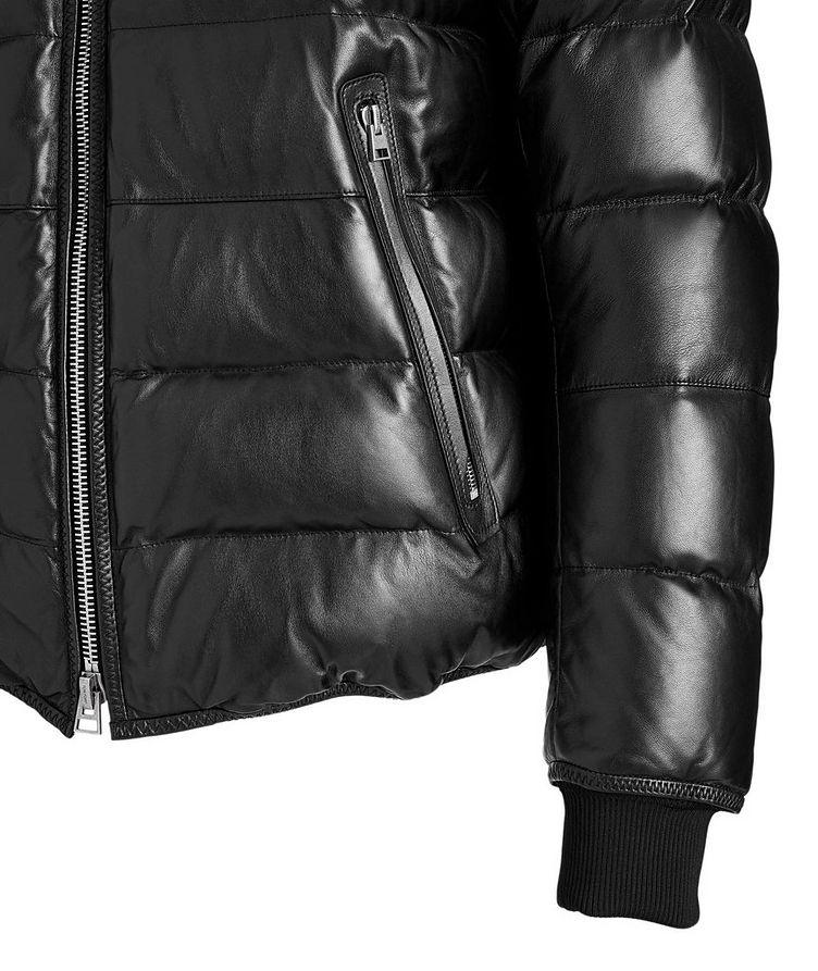 Lambskin Puffer Jacket image 3