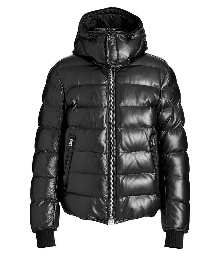 Lambskin Puffer Jacket image 0