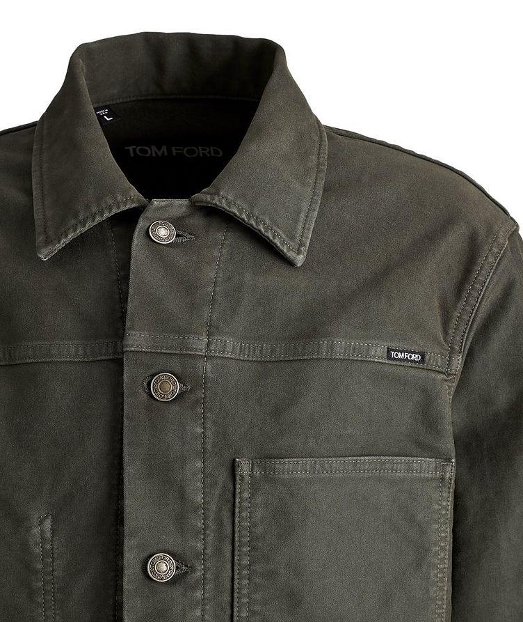 Brushed Cotton Workwear Jacket image 2