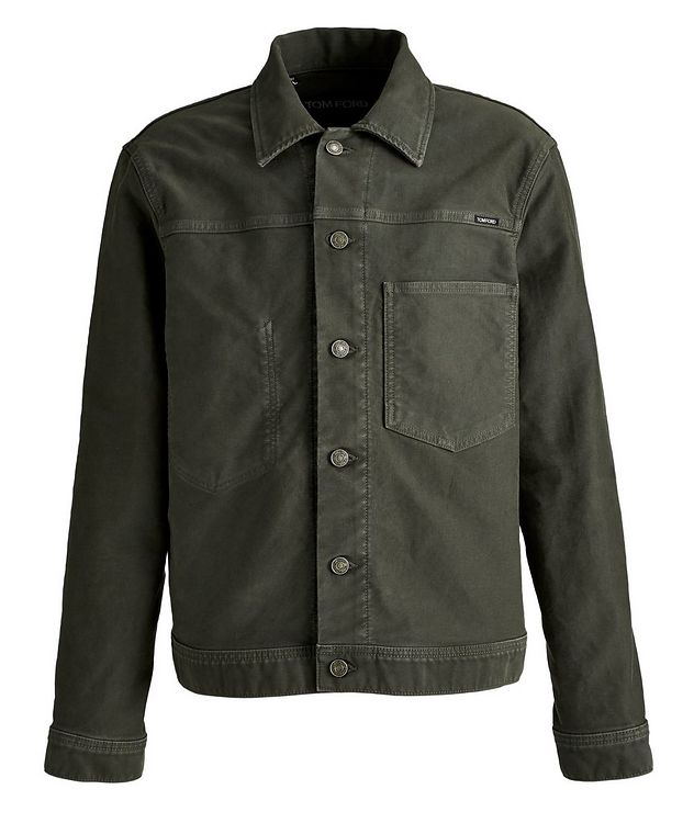 Brushed Cotton Workwear Jacket picture 1