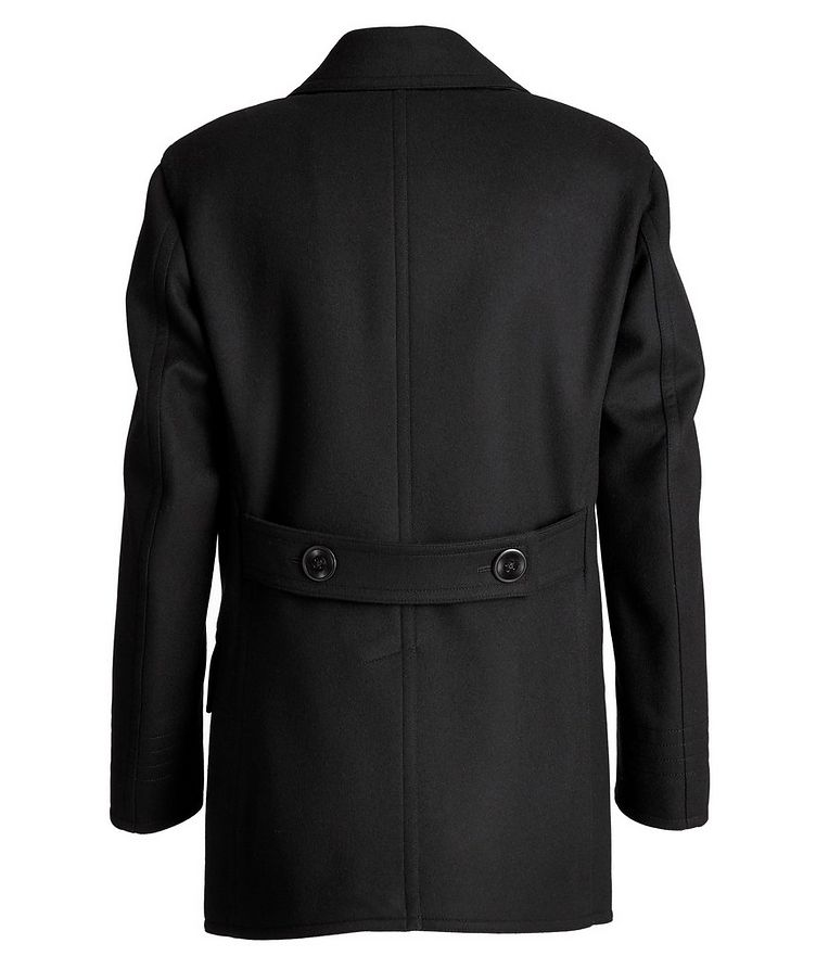 Double-Breasted Wool-Cashmere Peacoat image 1