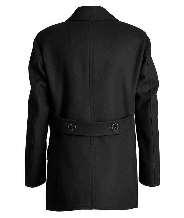 Double-Breasted Wool-Cashmere Peacoat picture 2