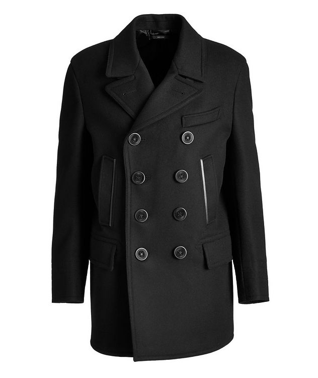Double-Breasted Wool-Cashmere Peacoat picture 1