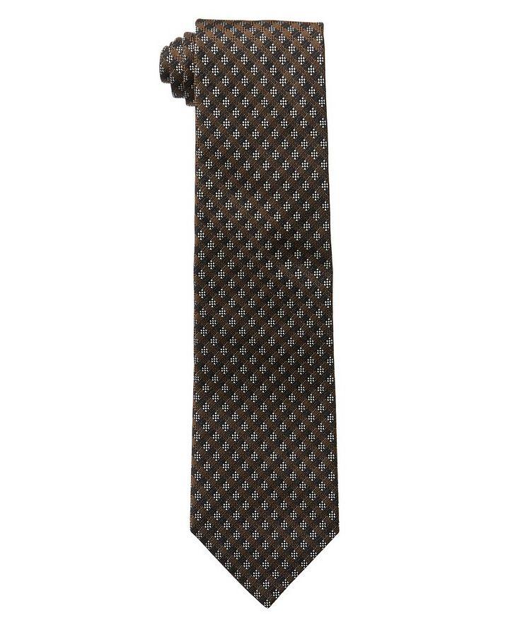 Gingham Silk Tie image 0