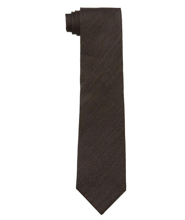 Herringbone Silk Tie image 0
