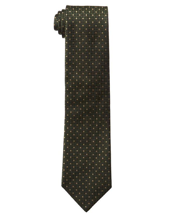 Polka Dot Silk Tie image 0