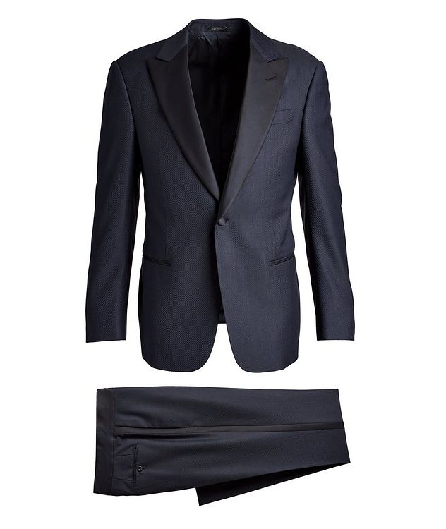 Soft Construction Wool Tuxedo picture 1
