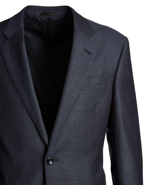 Soft Construction Bird's Eye Virgin Wool Suit picture 2
