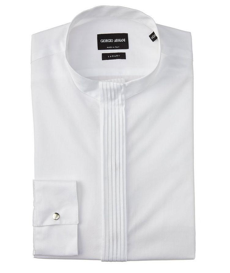 Chemise en twill de coton à plis image 0