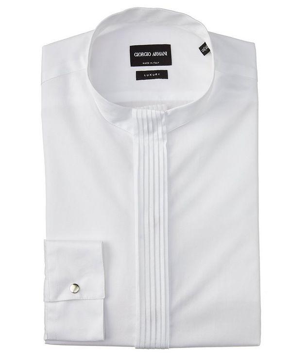 Chemise en twill de coton à plis picture 1