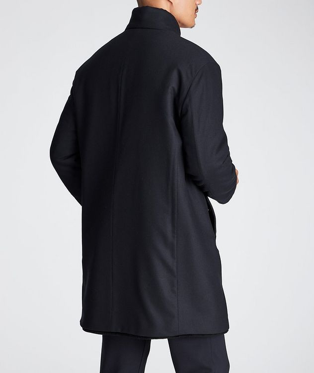 Wool-Cashmere Shearling-Lined Coat picture 3