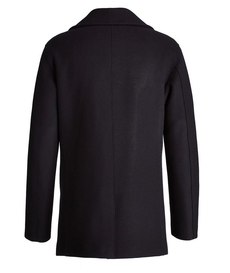 Caban Double-Breasted Wool-Cashmere Peacoat  image 1