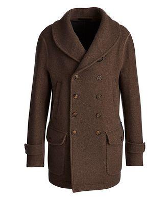 Giorgio Armani Unstructured Double-Breasted Cashmere Coat