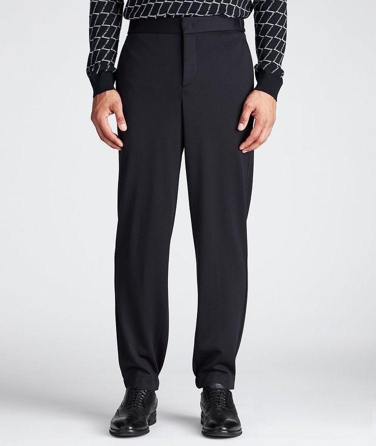 Virgin Wool Trousers image 1