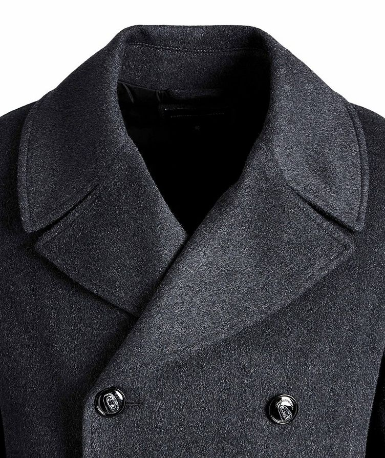 Double-Breasted Wool-Cashmere OverCoat image 1