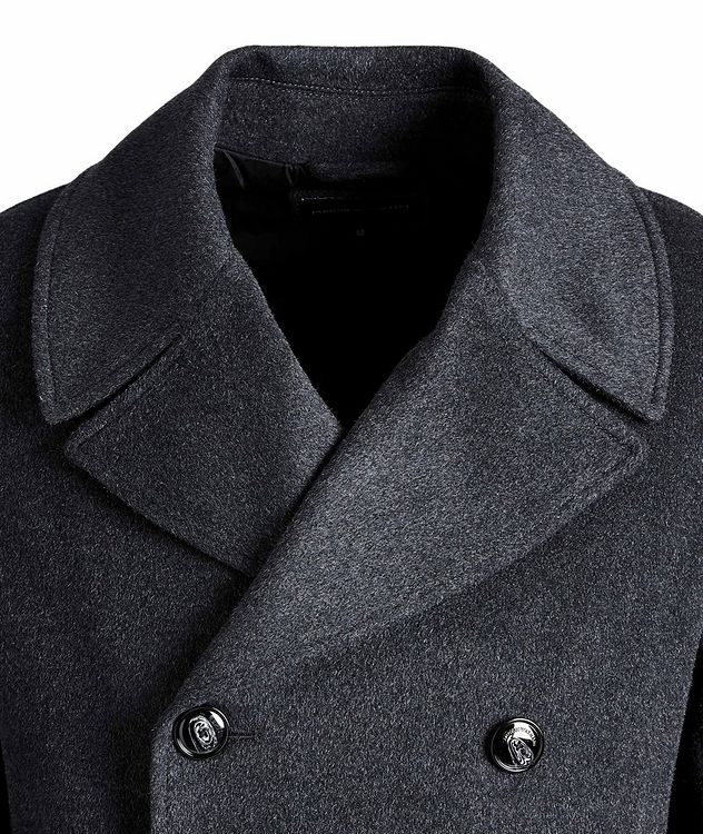 Double-Breasted Wool-Cashmere OverCoat picture 2