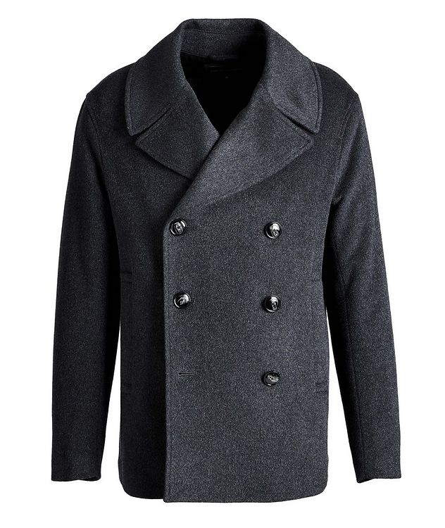 Double-Breasted Wool-Cashmere OverCoat picture 1