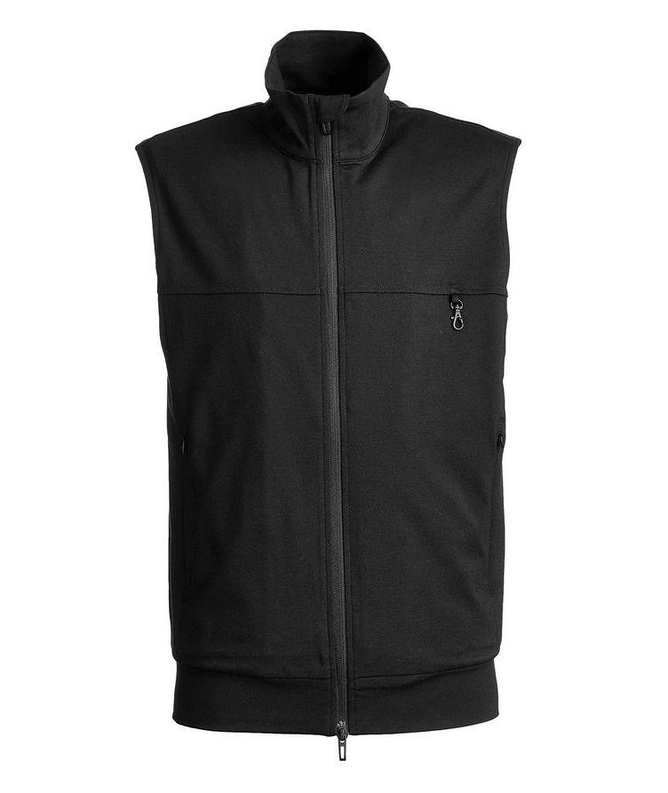 Lightweight Cotton Jersey Vest image 0